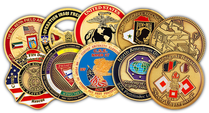 Cheap Custom Challenge Coins